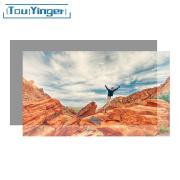 Светоотражающий проекционный экран 100 дюймов 221*125 см серый TouYinger Серый 100 дюймов