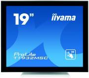 """iiyama ProLite T1932MSC-W5AG сенсорный дисплей 48,3 cm (19"""") 1280 x 1024 пикселей Черный, Белый Мультисенсорный Многопользовательский"""