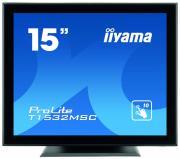 """iiyama ProLite T1532MSC-B5AG сенсорный дисплей 38,1 cm (15"""") 1024 x 768 пикселей Черный"""