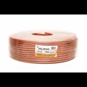 Коаксиальный телевизионный кабель силиконовый RG6 SELENGA 100м
