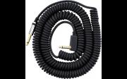 "VOX VCC-90BK Vintage Coiled Cable Шнур инструментальный, Jack 1/4"" (М) <=> Jack 1/4"" (М)"