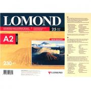 Фотобумага струйная A2 Lomond глянцевая 230г-25листов
