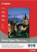 1686B021-Фотобумага полуглянцевая Canon SG-201, плотность 260 г/м2, формат A4, в упаковке 20 листов.