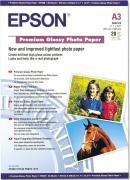 Epson Premium Glossy A3 255g 20 листов