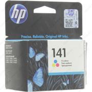 HP CB337HE Картридж №141 цветной HP OfficeJet J5783 (3,5мл) Уценка: использовать до 11/2015
