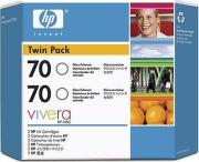 HP CB350A Картридж HP 70 Gloss Enhancer Ink Cartridge 2-pack
