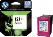 HP CC644HE Картридж Hewlett-Packard 121XL Tri-colour Ink Cartridge with Vivera Ink