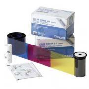 Набор для печати: красящая лента YMCKT, чистящий ролик, чистящая карта, 500 отпечатков
