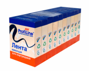 Лента 13мм*10м черная левый мебиус упаковка (1уп=10шт_по_2ленты) ProfiLine