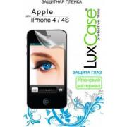 Защитная пленка LuxCase для Apple iPhone 4/4S Front Back (антибликовая)