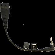 Jabra шнур QD на 2.5 мм, 15см