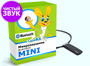 Комплект Mini (капсульный микронаушник + bluetooth-гарнитура)