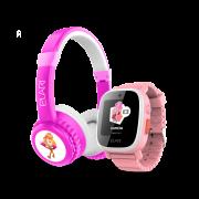 Детские беспроводные наушники ELARI FixiTone Air + часы-телефон ELARI FixiTime 3