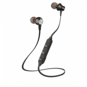 Bluetooth гарнитура Interstep SBH-230 наушники Sport (черные)