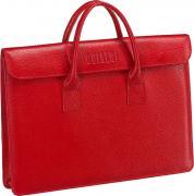 Кожаные сумки Brialdi VIGO-relief-red