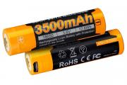 Аккумулятор Li-Ion Fenix ARB-L 18-3500U 18650, Rechargeable, 3.6В