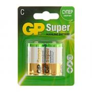 Элемент питания GP Super LR14 С блистер 2 шт