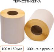 Термоэтикетка 100х150 300 шт. втулка 40 мм ЭКО Scanberry Термоэтикетка 100х150 300 шт. втулка 40 мм ЭКО