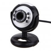 Веб-камера с микрофоном и подсветкой WZ2 (Черный)
