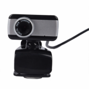 Веб-камера 517 Full HD 1080P (Черно-серебряная)