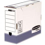 Переносной короб с крышкой Fellowes Bankers Box System 100 mm A4 синий FastFold™, 100 x 315 x 260 мм FS-00265