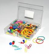 Набор - резинки для купюр, гвоздики, скрепки, кнопки Alco 2105
