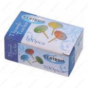 Кнопки металлические Centrum цветные 100 шт (80368)