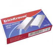 ErichKrause Скобы для степлера Erich Krause 24/6 1000 шт х 10 коробок