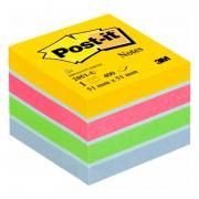 Бумага для заметок с клеевым краем POST-IT Лето 51х51 мм 400 листов
