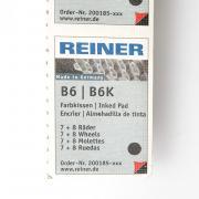 REINER B6 PADч - Сменная штемпельная подушка для B6,B6K, черная