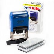 GRM 4729 P3 Typo. Самонаборный датер, 4 строки, две ножки крепления