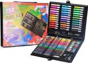 """Чемоданчик """"Набор Юного художника"""" для рисования Art Set 150 предметов"""