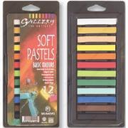 Пастель Mungyo Gallery Soft Pastels Basic Colours мягкая, 12 цветов MP-12BB