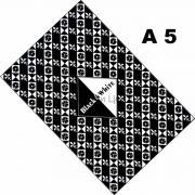 Планшет для эскизов 14,8х21см 160г/м2 30л Черный и белый Лилия Холдинг