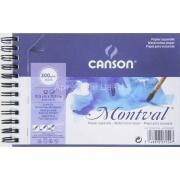 Альбом для акварели 10,5х15,5см 300г/м2 12л на спирали Canson