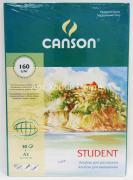 Альбом для рисования 29,7х42см 160г/м2 30л склейка Canson