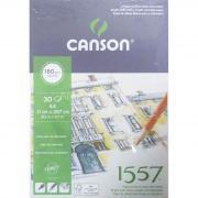 Альбом для графики 21х29,7см 180г/м2 30л мелкое зерно склейка Canson