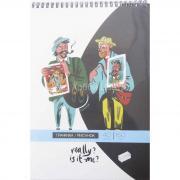 Альбом для графики 21х29,7см 150г/м2 40л Ван Гог и Гоген на спирали Малевич