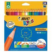 Карандаши цветные Bic Kids 24 цвета