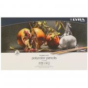 Набор карандашей цветных художественных Lyra Rembrandt Polycolor, 36 цветов, металлическая коробка