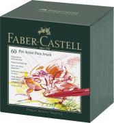 Faber-Castell Капиллярные ручки Pitt Artist Pen 60 шт