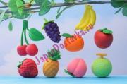 Фигурный 3D-ластик из серии Фрукты, IWAKO 1 шт. (на выбор)