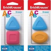Набор ластиков (2 шт) Erich Krause эргономичной формы