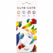 Cute-Cute Точилка с одним отверстием Cute-Cute, форма цилиндр, пластик