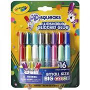 Смываемый клей с блестками 16 тюбиков от 3 лет Crayola 69-4200