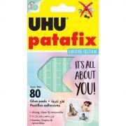 Клеящие подушечки UHU PATAFIX пастельные, мятные, 80шт