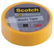 Скотч бумажный желтый 15ммх10м Scotch