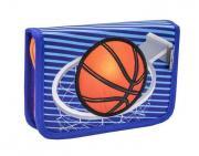 """Пенал Belmil """"Баскетбол"""" без наполнения с 2-я клапанами"""