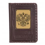 """Обложка на паспорт из кожи """"Государь"""""""