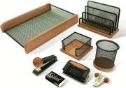 Набор письменных принадлежностей Galant Wood&Metal, 230878, светлое дерево, 8 предметов